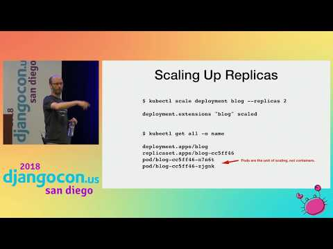 DjangoCon US 2018 - Fundamentals of Kubernetes for Django developers by Graham Dumpleton