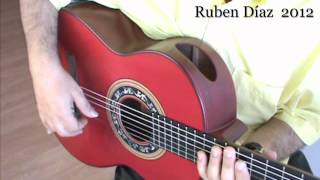 Interactive (3) Tangos Muted Strumming  Lesson / 73 x 2  bpm Ruben Diaz Flamenco CFG studio  Malaga