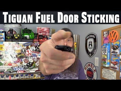 Tiguan Fuel Door Sticking