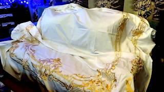 видео Белое постельное белье