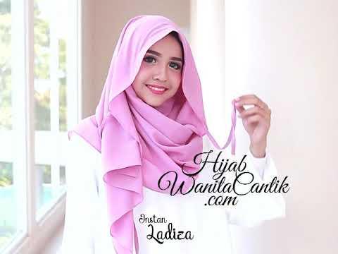 Hijab Tutorial Pashmina Instan Ladiza Original By Hijab Wanita Cantik Youtube