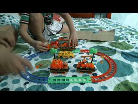 Xe tàu lửa đồ chơi - xe tau lua do choi