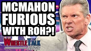 Vince McMahon FURIOUS With Ring Of Honor & New Japan! | WrestleTalk News Aug. 2018