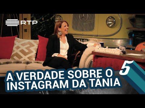 A verdade por detrás do Instagram da Tânia Ribas de Oliveira | 5 Para a Meia-Noite | RTP