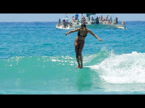 Waikiki, Hawaii | Longboard Surfing | April 2018
