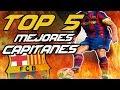 ESTE es el MEJOR CAPITAN de la HISTORIA del BARCELONA | TOP 5