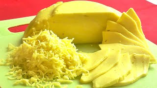 Твердый сыр своими руками Твердый сыр из магазинного творога