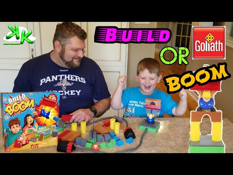 Build or Boom Goliath Games Review - Build it fast or it will go BOOM
