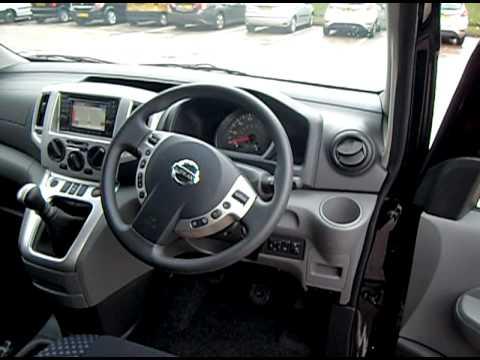 Nissan Nv200 Evalia For Sale Interior Front Youtube