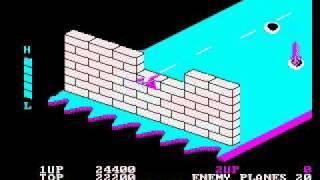 PC DOS Zaxxon (1984)
