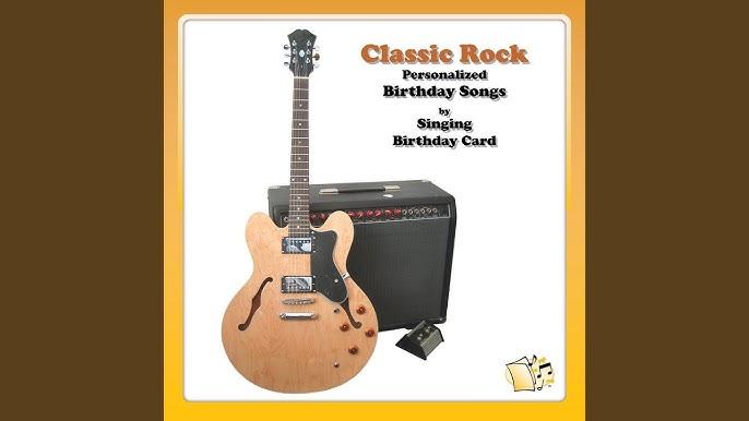 Happy Birthday, Darren (Classic Rock) - YouTube