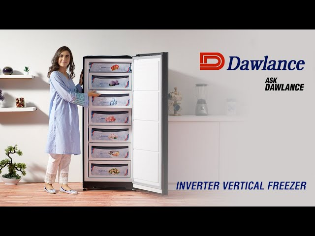 Dawlance Inverter Vertical Freezer