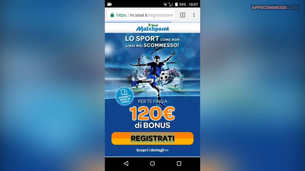 9c0139e8fb Sisal matchpoint app