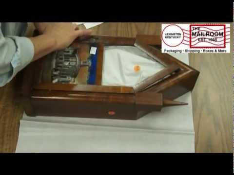 http://www.themailroomky.com/contact.html Packing An Antique