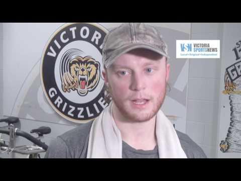 Grizzlies video interviews: Craig Didmon, Cody Van Lierop & Cole Pickup