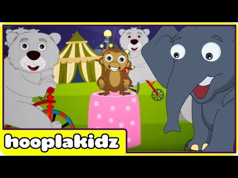The Animal Fair | Nursery Rhymes | Fun Animal Rhymes For Children by Hooplakidz