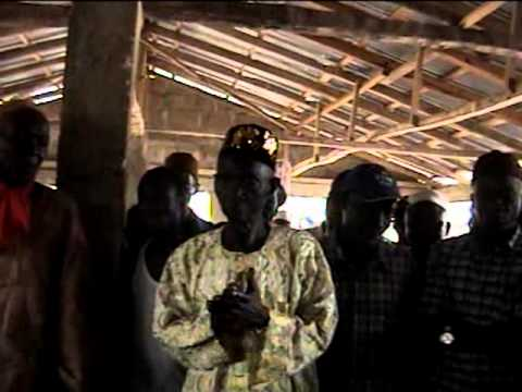VISIT TO KASSEH CHIEFDOM - 2013 - PART 3