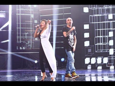 Nicoleta Nucă, show pe scena X Factor, alături de Cabron