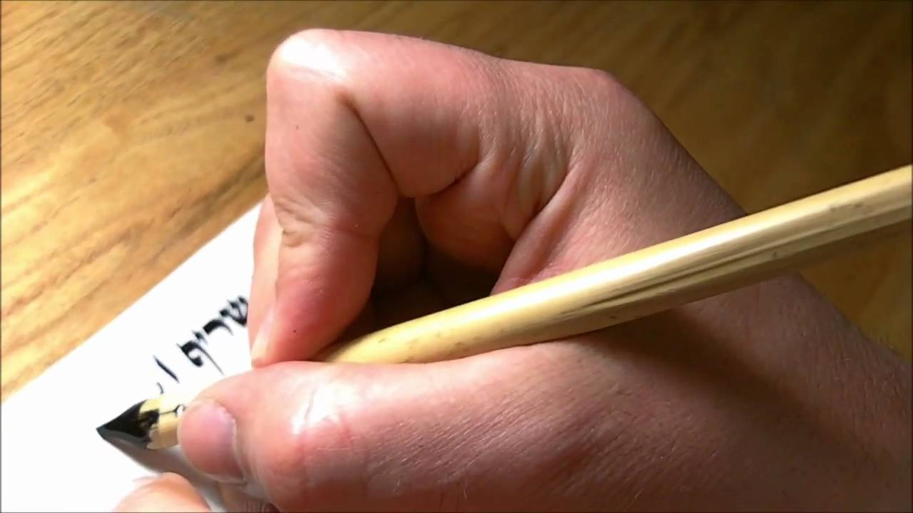 Milkyroad Qalam Making Calligraphy Reed Pen For Arabic