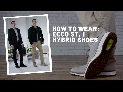How To Wear | ECCO Men's ST 1 Hybrid Shoes