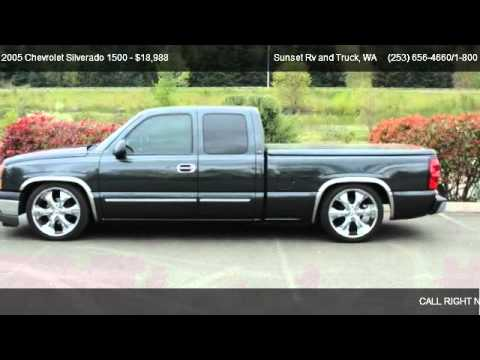 2005 Chevrolet Silverado 1500 1500 2wd Ls Lowered For Sale In
