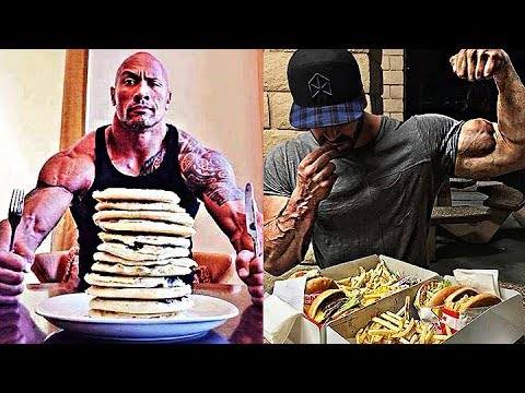 When Bodybuilders Have A Cheat Day | Extreme Calorie OVERDOSE !!!