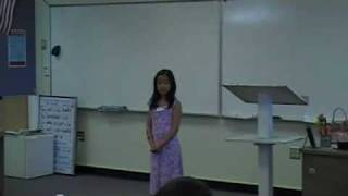 Fullerton Chinese School Poetry Recital Competition