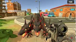 Monster Killing City Shooting II - gameplay 3