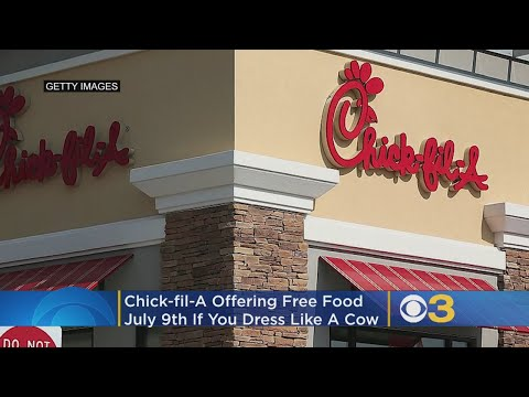 Big Mark Clark - Chick-Fil-A is giving away free food in honor of Cow Appreciation Day.