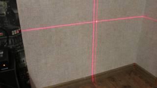 Лазерний рівень Aculine AK 435 перевірка на точність