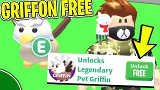 How To Get The GRIFFON PET *FREE* (LEGIT) In Roblox ADOPT ME!