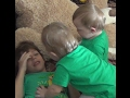 Twin Leprechauns appear and tickle little boy to death!