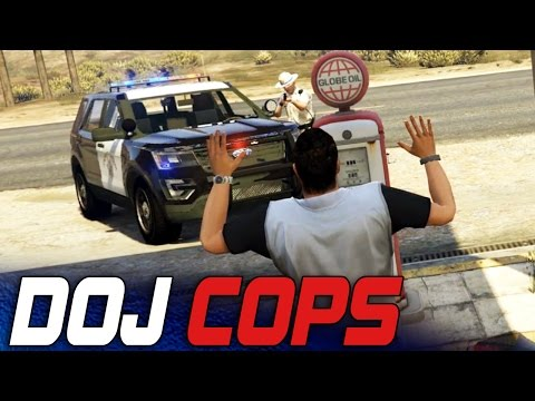 Dept. of Justice Cops #10 - Unwilling Participant! (Criminal)