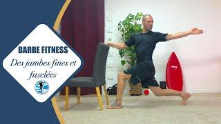 BARRE Fitness : Le cours de l'été pour DES JAMBES fines ET FUSELÉES !