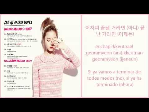 Lee Hi -Because  [Sub Español + Romanizacion + Hangul] [Download mp3]