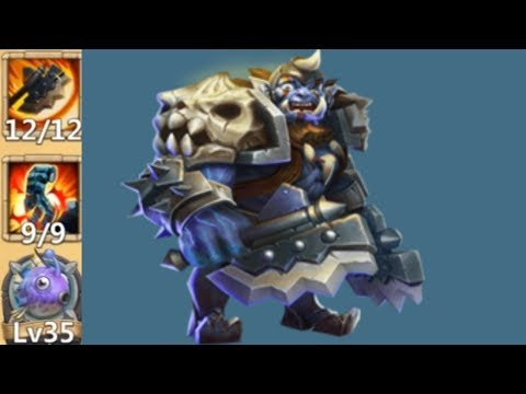 Orksbane | 9/9 Stone Skin | 8 Empowered Insignia | Castle Clash