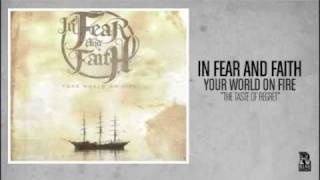 Watch In Fear  Faith The Taste Of Regret video