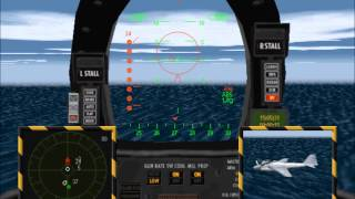 Top Gun Fire at Will 1996 PC Spiel Deutsch Lets Play - ( Part 1 )
