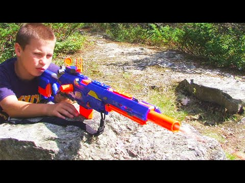 Nerf War: Insane Nerf Gun War 4