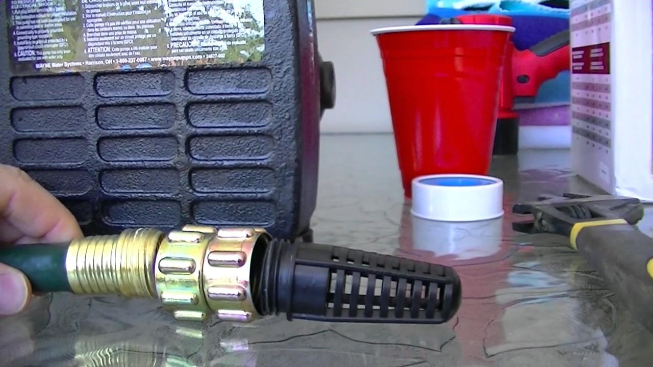 Rain Barrel Water Pump Review