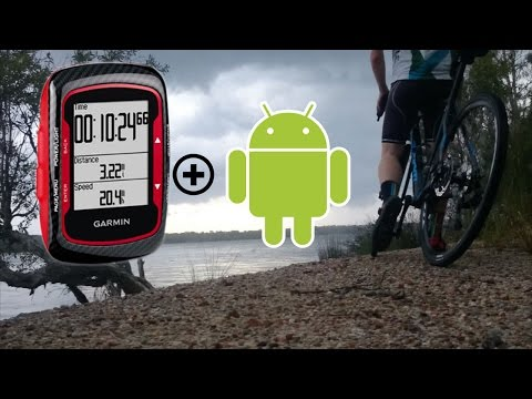 How to upload from the Garmin Edge 500 to Strava with an Android device