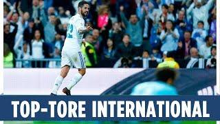 Isco, Balotelli, Coutinho & Co. | Die schönsten internationalen Tore des Wochenendes!