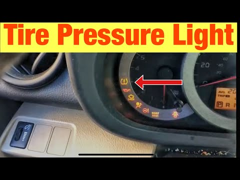 How to Reset the Tire Pressure Light on a Toyota RAV4
