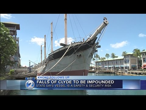 State upholds decision to impound historic ship at Honolulu Harbor