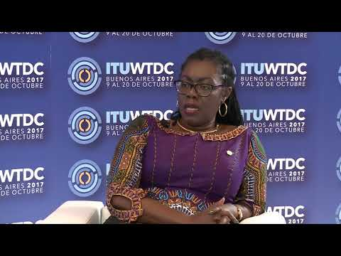 ITU INTERVIEWS @ WTDC-17: Ursula G. Owusu-Ekuful, Minister, Ministry of Communications, Ghana