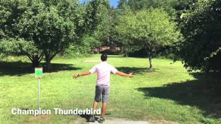 Paul McBeth 2015 Disc Golf World Championships practice at Moraine State Park by Supreme Flight