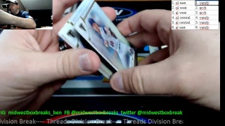 Midwest Box Breaks Triple Threads Baseball  Mixer and Division Break