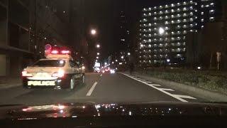 自称ヤ〇ザのLSが絡んできて、その後パトカー見て一目散に逃走