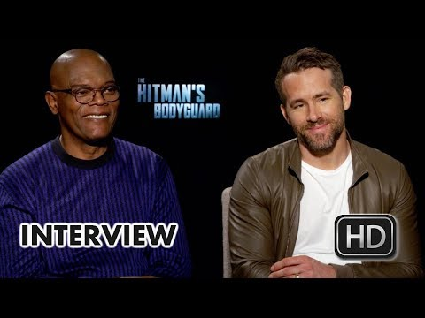 The Hitman's Bodyguard (2017) Ryan Reynolds & Samuel L. Jackson Interview [HD]