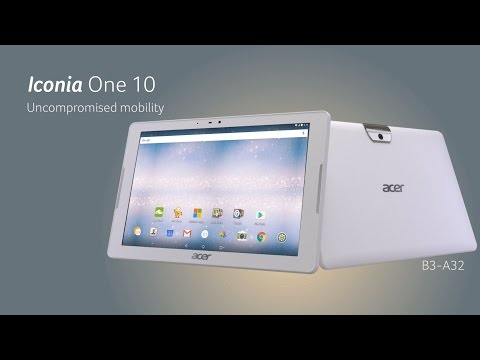 Acer | Iconia One 10 – Go mobile, go faster